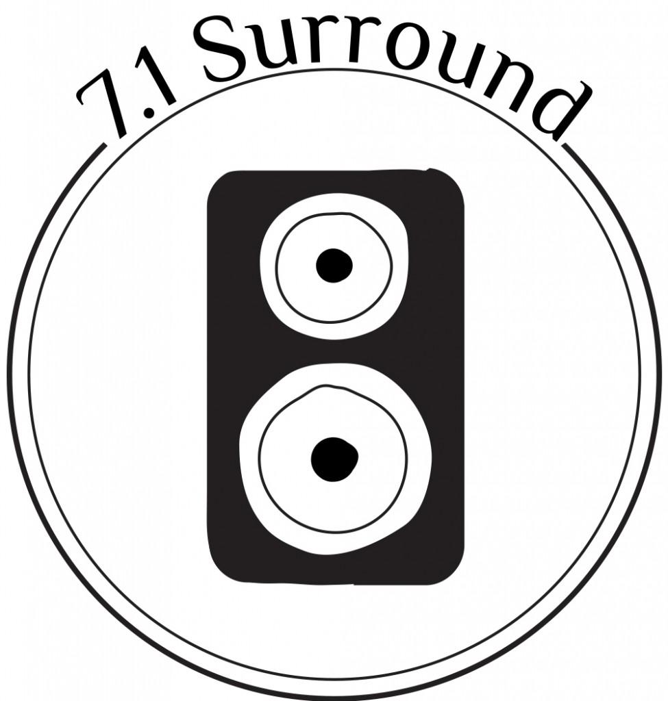 7 surround stereo Cinema Capitol